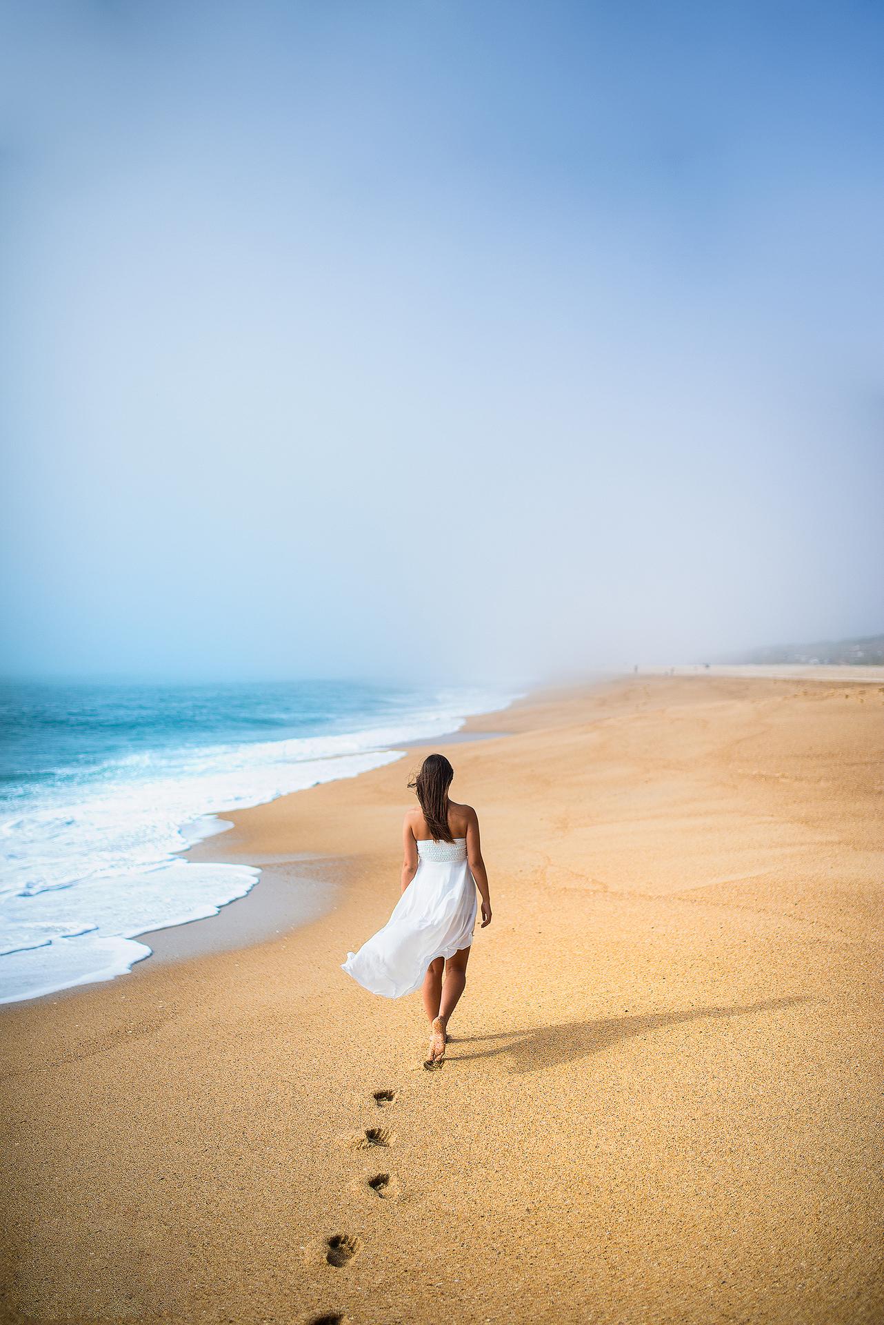 Lungo la costa...