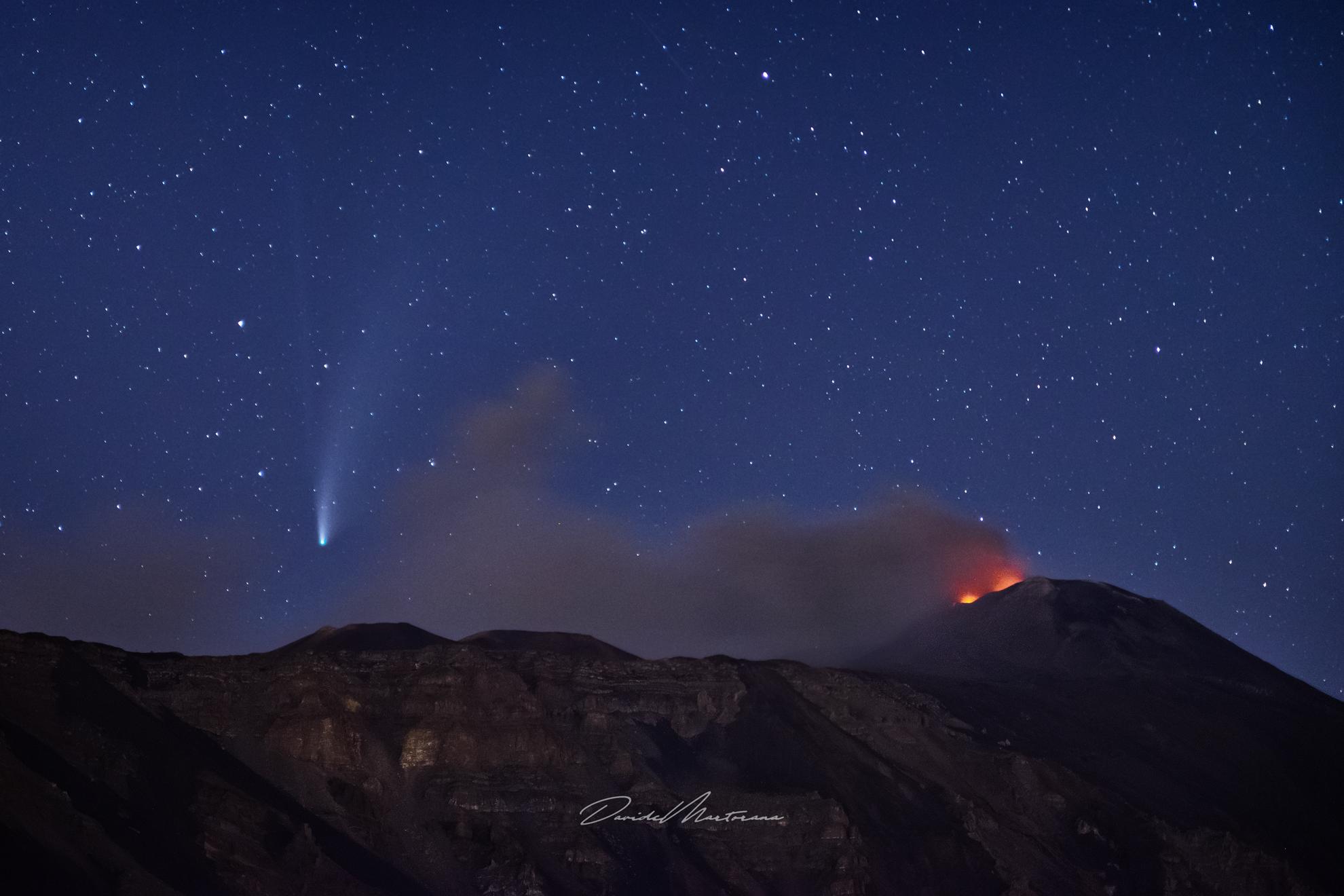 La Cometa sul Vulcano...