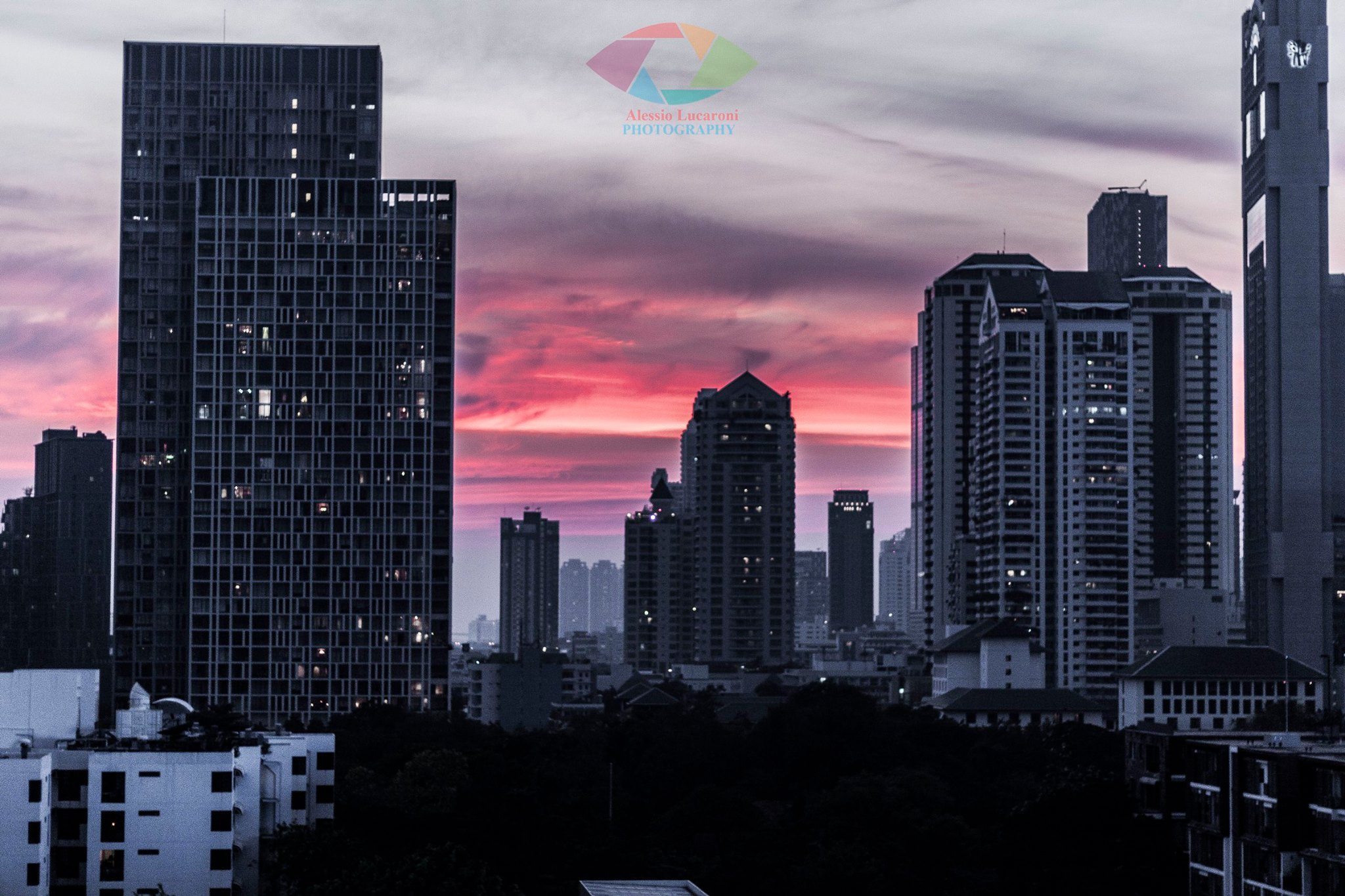 Skyline Bangkok...