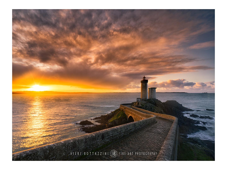 Petit Minou lighthouse at dawn...