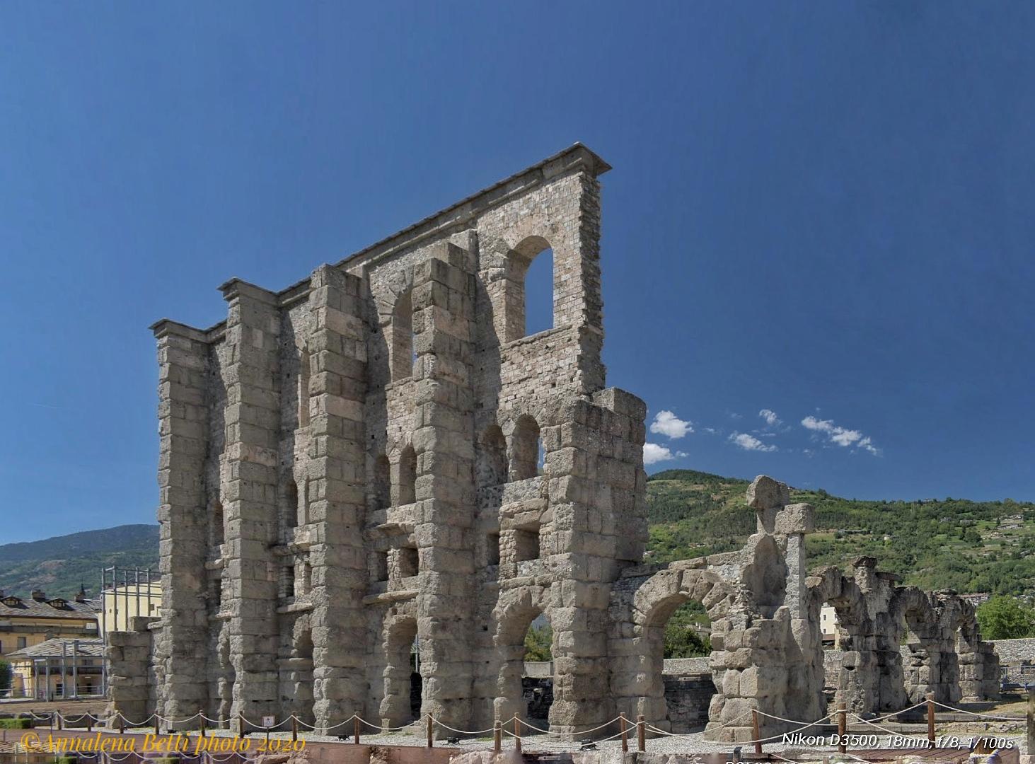 Roman Theatre of Aosta...