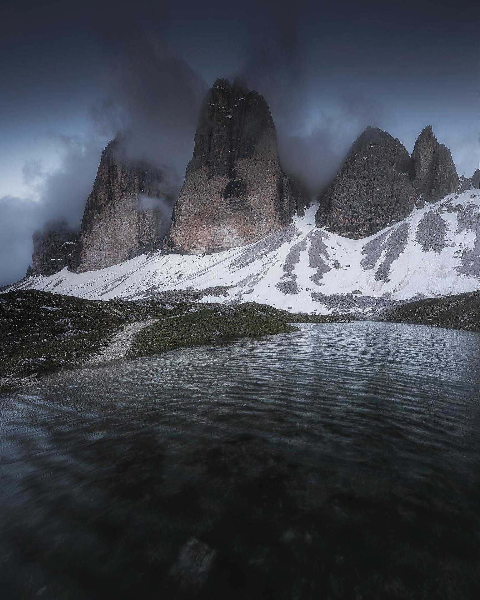 Three Peaks...