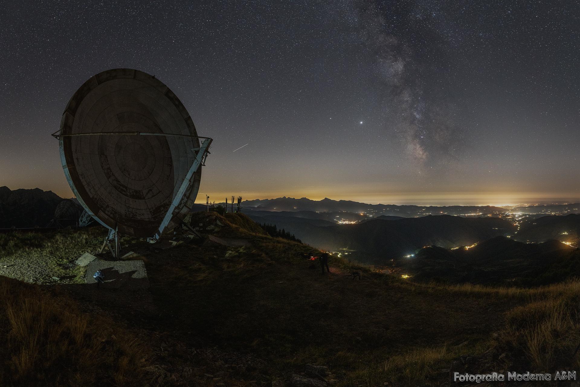Monte Giogo - Ex Base Nato...