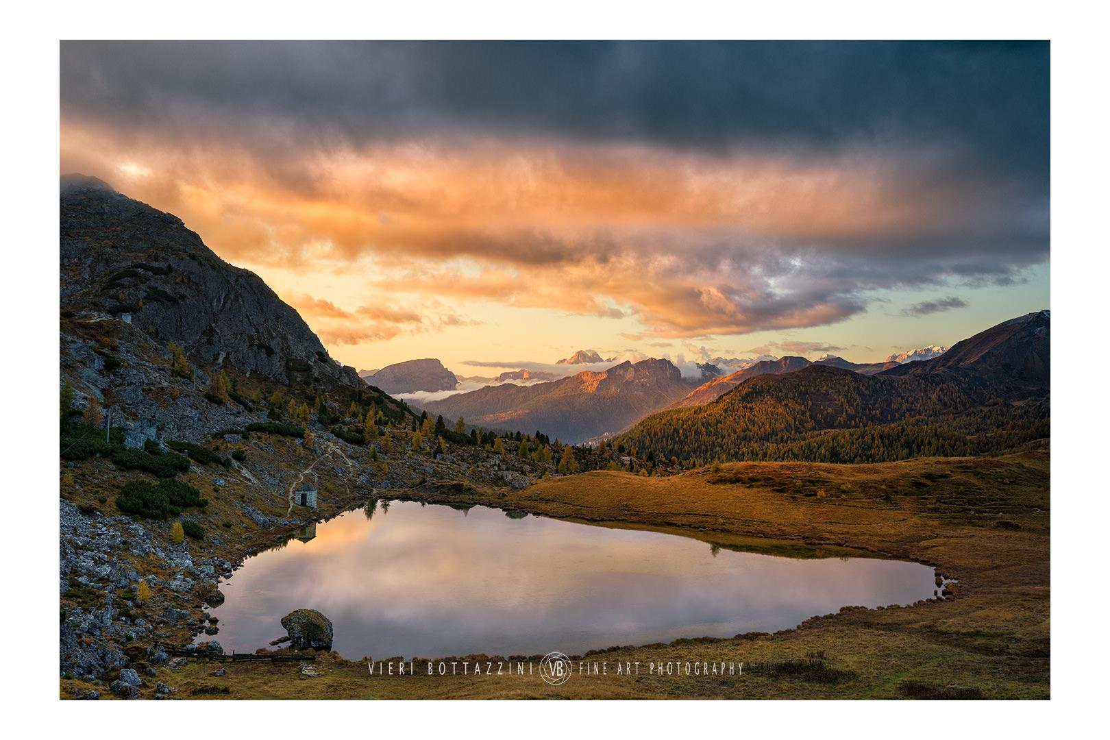 Sunrise in Valparola...