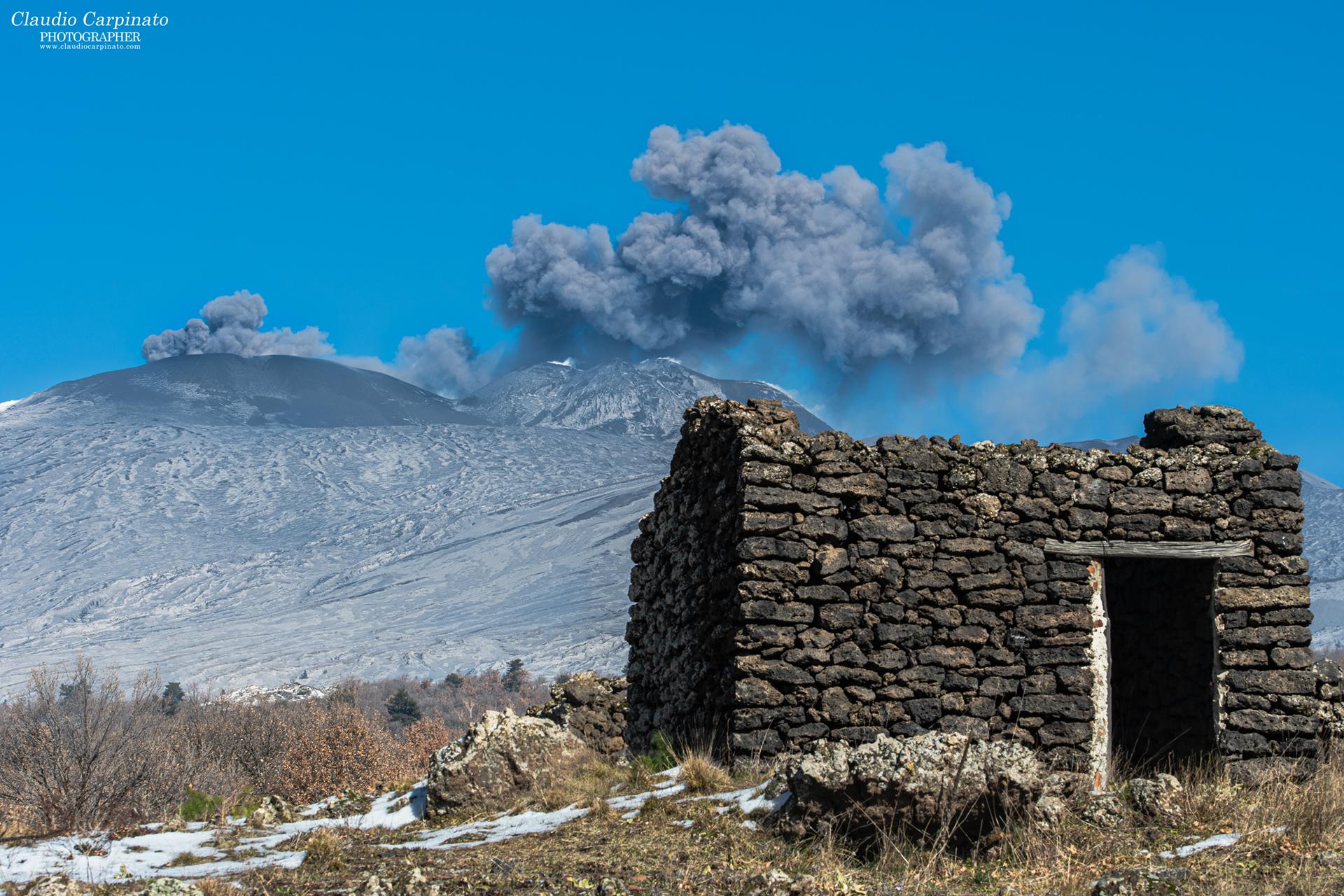 Smoking Etna...