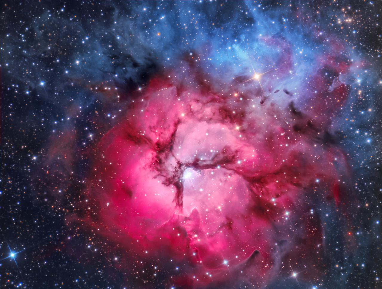 Trifid Nebula...