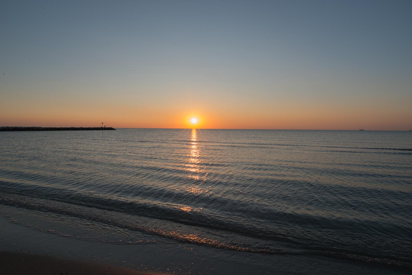 Sunrise over the Abruzzo Sea...