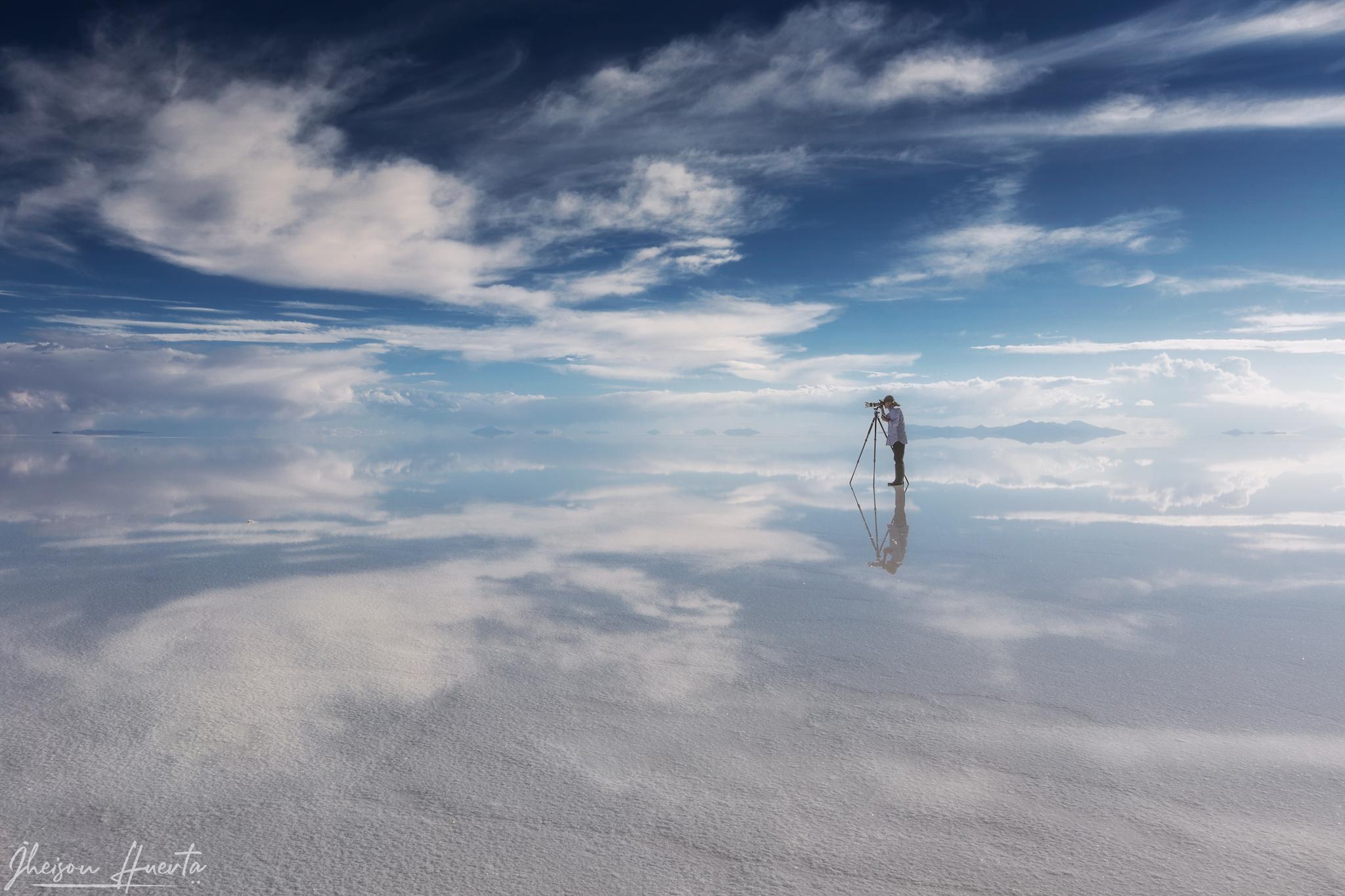 Salar de Uyuni, Bolivia...