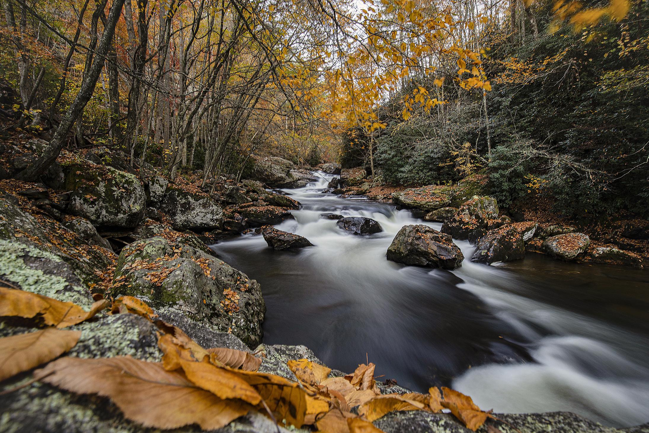 Cullasaja River...