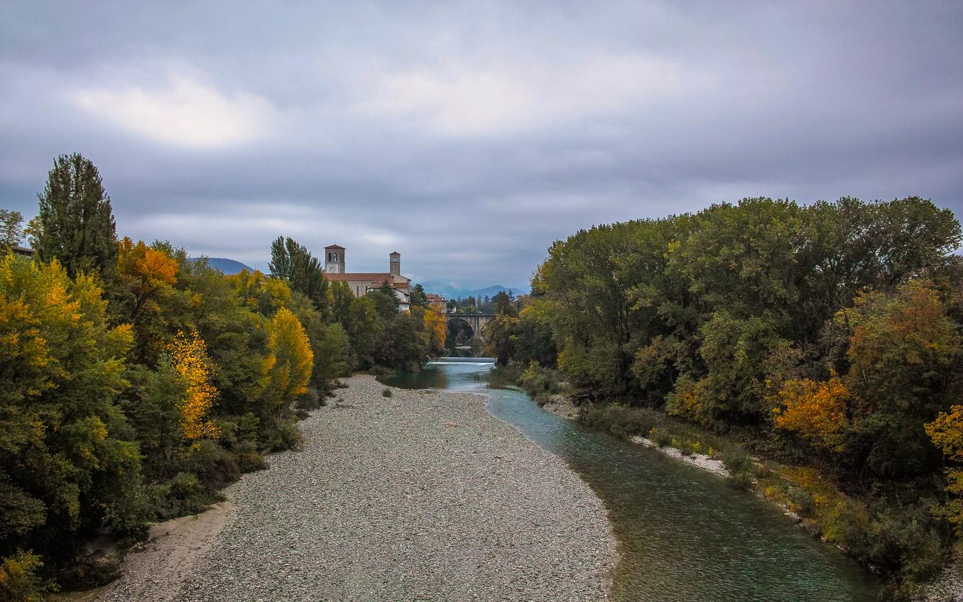 Cividale: Devil's Bridge, Natisone River...