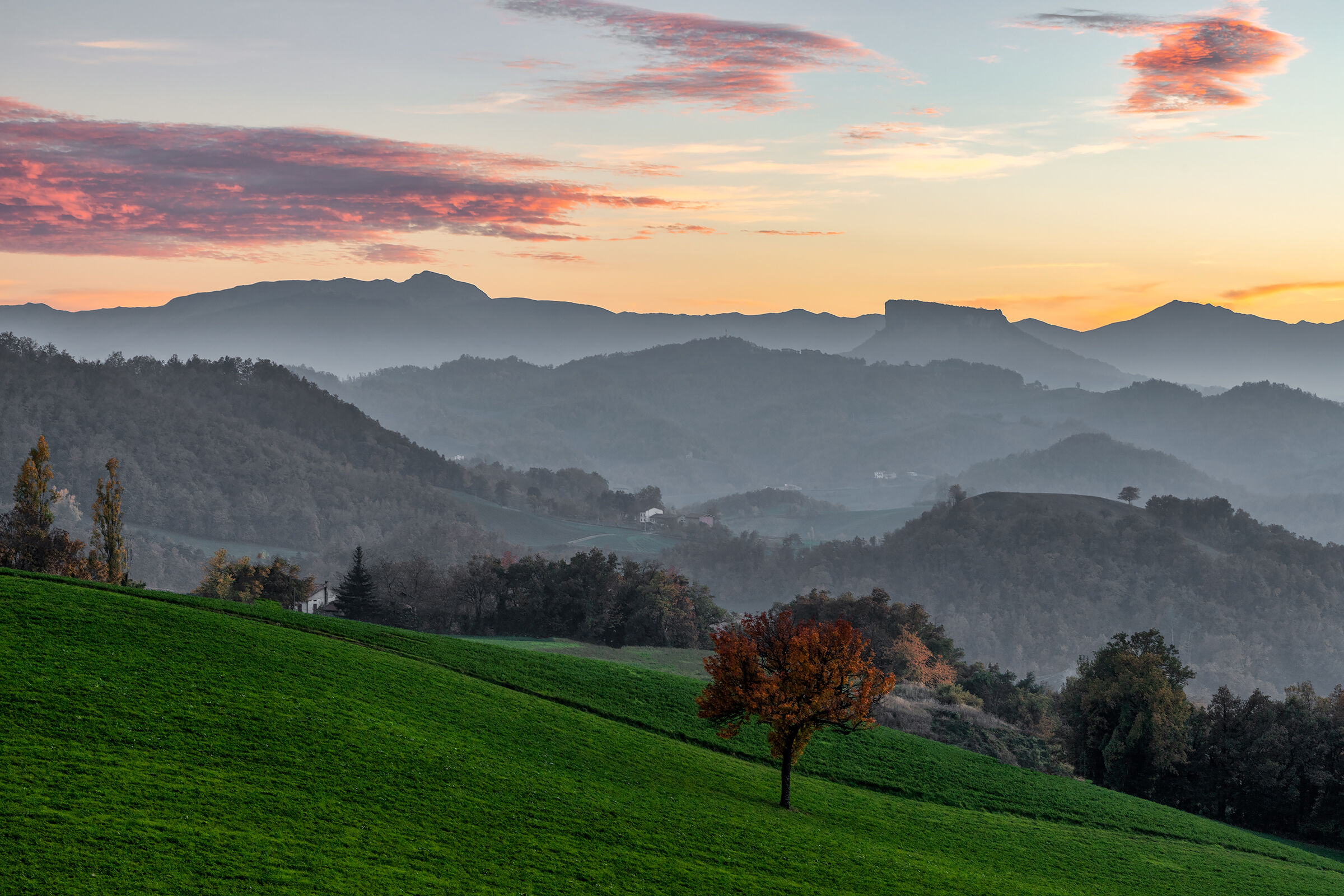 Apennine sunsets...
