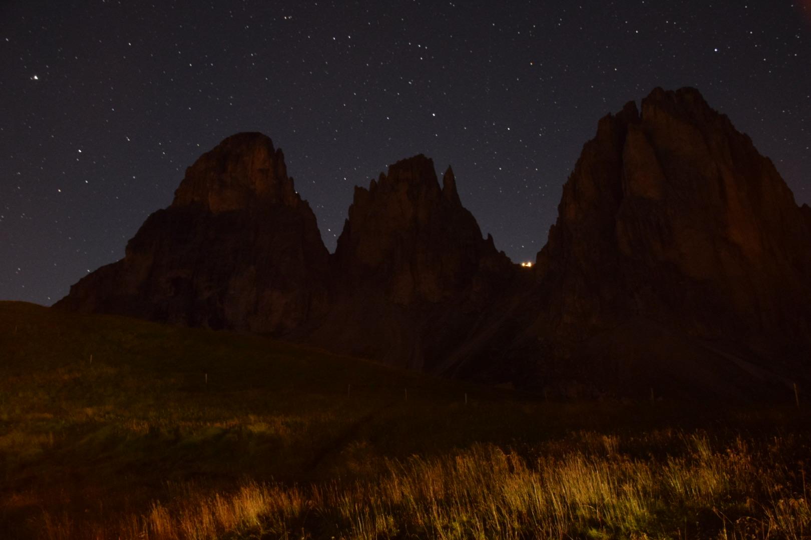 Night on the Sassolungo...