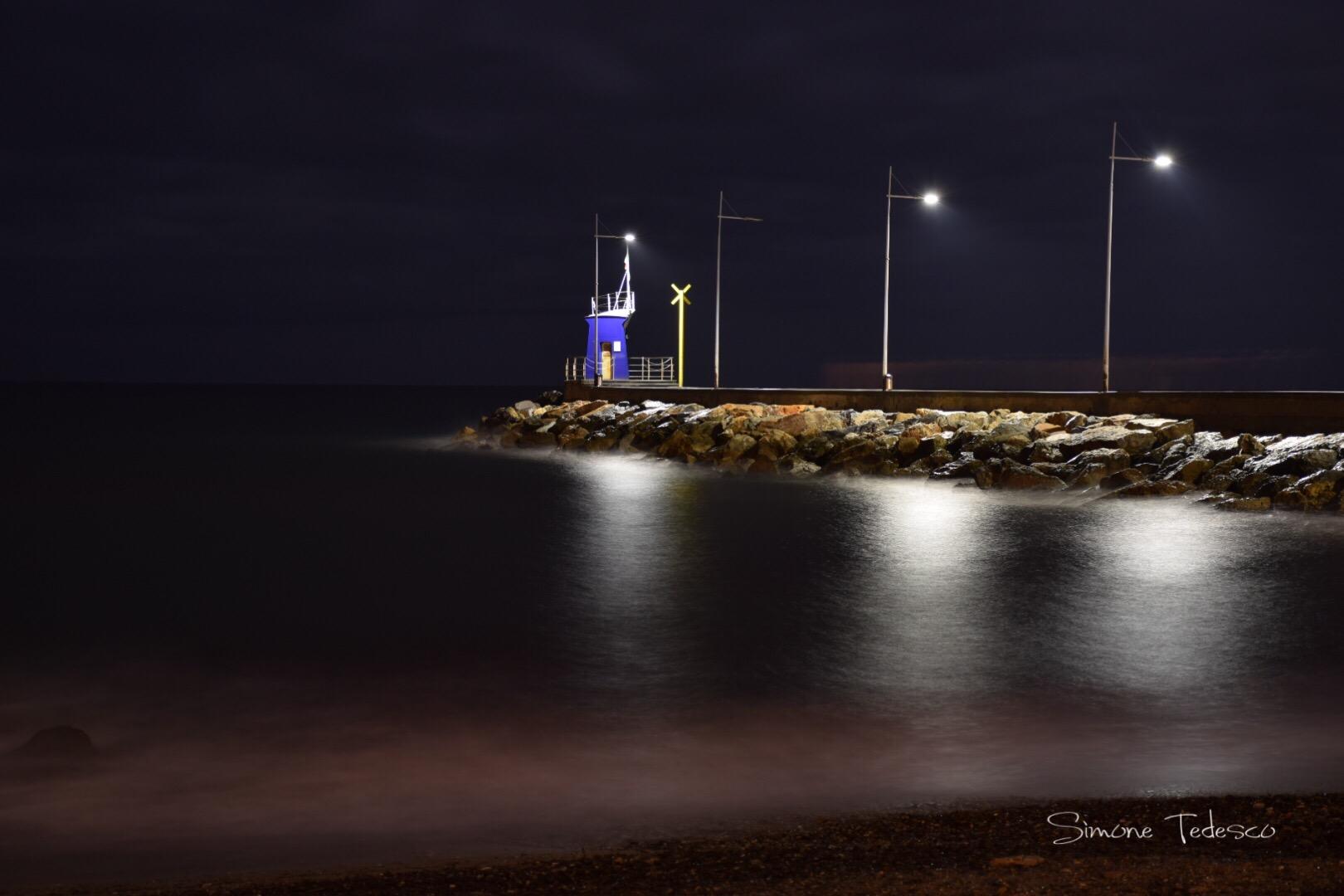 Pier at night ...