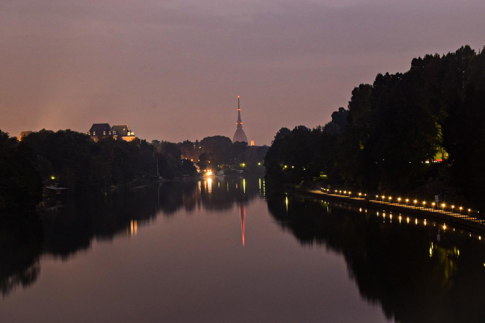 Turin at dawn...