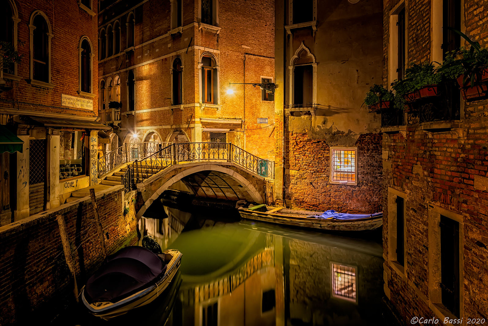 Venice by night...